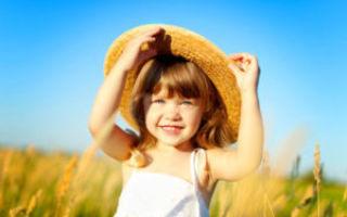 Как выглядит аллергия на солнце у детей