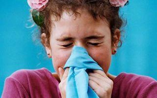 Аллергия в июле