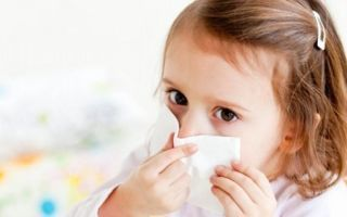 У ребенка аллергия на домашнюю пыль