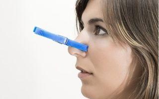 Средство от заложенности носа при аллергии