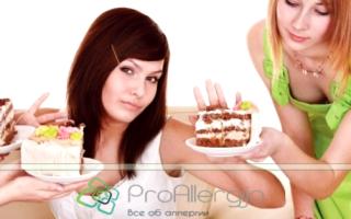 Аллергия на сладкое лечение