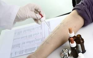 Анализ крови на пищевые аллергены
