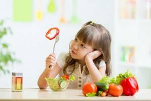Аллергия у грудничка на овощи