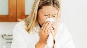 На что сейчас может быть аллергия
