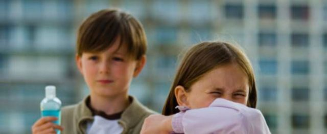 Лечение аллергического кашля у детей