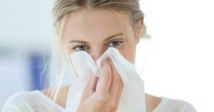 Заложенность носа при аллергии лечение