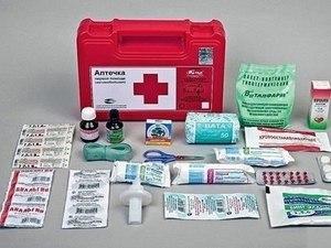 Аптечка при анафилактическом шоке