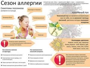 Сезонная аллергия при беременности