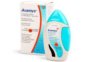 Авамис гормональный или нет