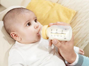 Аллергия у младенца на смесь