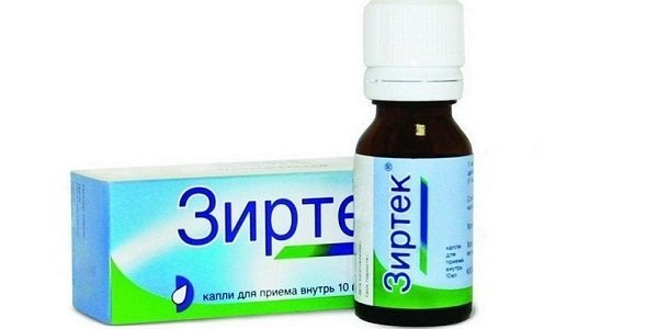 Антигистаминные капли в нос при аллергии