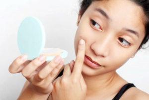 Красные пятна на лице аллергия чем лечить