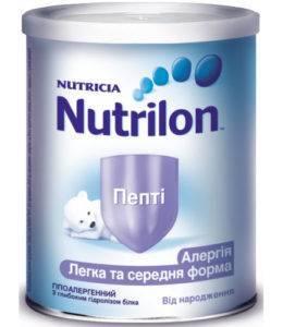 Аллергия на нутрилон