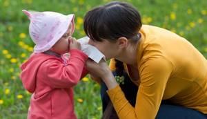 От аллергии детям до 1 года