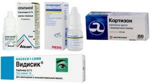 Аллергия глаза чешутся что делать