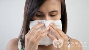 Чем промывать нос при аллергии