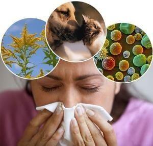 Виды аллергии у детей