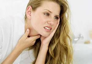 Отек горла при аллергии симптомы