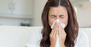 Чихание и заложенность носа