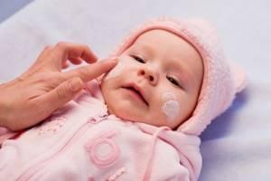 Крем от аллергии на коже для детей