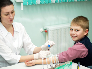 Показатель аллергии в анализе крови ребенка