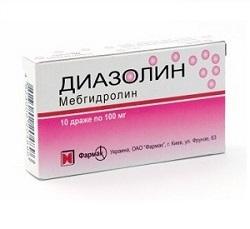 Лекарство диазолин