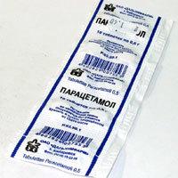 Парацетамол от аллергии