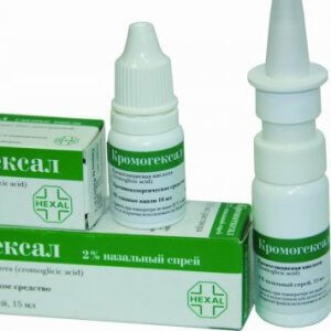 Недорогие капли от аллергии в нос