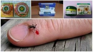 Укусы комаров у детей лечение