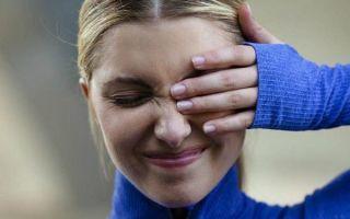 Раздражение слизистой глаза