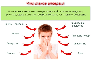 Первая помощь при аллергической реакции