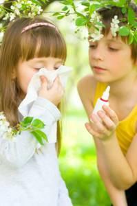 У ребенка не проходит аллергия