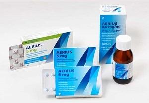 Таблетки aerius