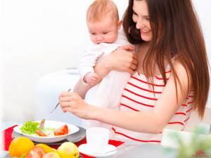 Диета кормящей мамы при аллергии