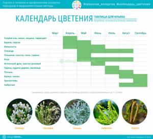 Календарь аллергика