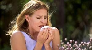 Кашель при аллергии симптомы