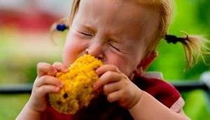 Аллергия на кукурузу у ребенка