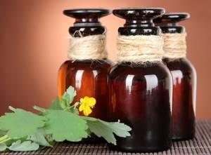 Лечение чистотелом псориаза
