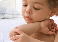 Череда при аллергии у детей