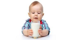 У грудного ребенка аллергия на коровье молоко