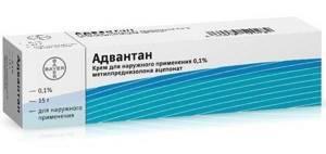 Крем от дерматита для детей