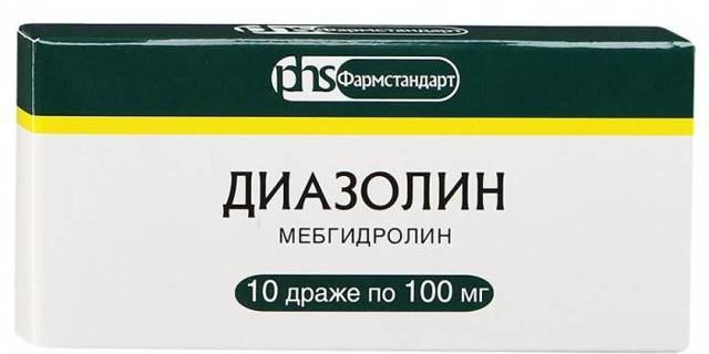 Диазолин инструкция