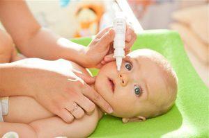 Капли в нос при аллергии у детей