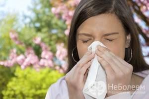 Аллергический ринит таблетки