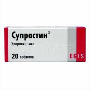 Аллергия на супрастин