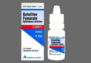 Кетотифен от чего